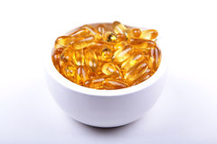Your daily dose of Vitamin E Royalty Free Stock Photo