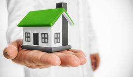Your Eco house Royalty Free Stock Image