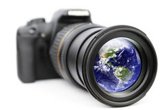 Your eye for a world royalty free stock photo