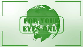 For your eyes only Royalty Free Stock Images