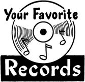 Your Favorite Records Stock Photos