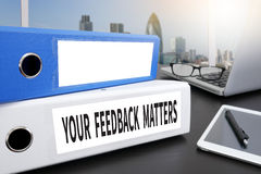 YOUR FEEDBACK MATTERS Royalty Free Stock Image