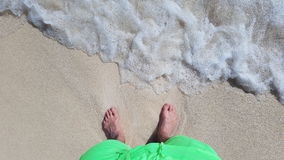 With your feet in the sand Royalty Free Stock Photography