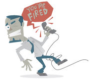 Your Fired! Stock Image