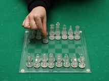 Your first move Stock Photos