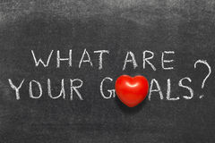 Your goals Stock Images