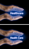 Your Health Care is in Your Hands Stock Images