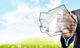 Your house design Stock Images