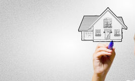 Your house design Stock Image