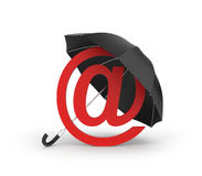 Your internet mail in safety Royalty Free Stock Photo
