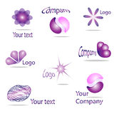Your logo. Set of different icons for your design Stock Photography