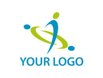 Your logo Royalty Free Stock Photo
