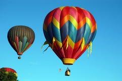 On Your Mark, get Set, go. Hot Air Balloon Colorado Stock Photos