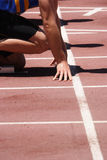 On Your Marks Royalty Free Stock Image