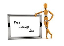 Your message Royalty Free Stock Photography