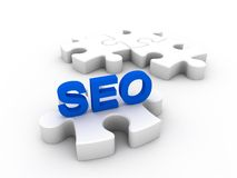 Your missing part is SEO stock illustration