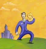 Your money Royalty Free Stock Photos