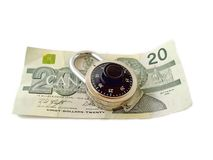 Is your Money Safe Stock Photography