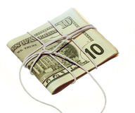 Is your money tied up? Royalty Free Stock Photos