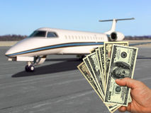 Your money, your dream stock photo