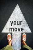 Your move Royalty Free Stock Photo