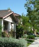 Your Neighborhood. Suburban neighborhood/street Royalty Free Stock Photo