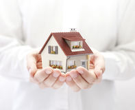 Your new house Royalty Free Stock Images