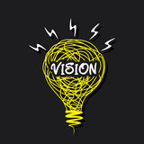 Your new vision concept design Stock Photo