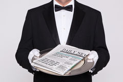 Your Daily newspaper Royalty Free Stock Image