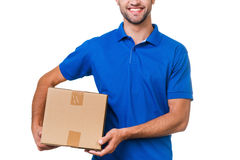 Your package is in safe hands. Stock Images