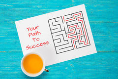 Your path to success concept Royalty Free Stock Photos