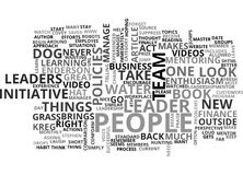 Are Your People On A Chain Word Cloud Stock Images