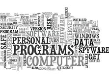 Is Your Personal Data Safe Text Background  Word Cloud Concept Royalty Free Stock Photos