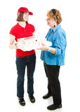 Your Pizza Delivery Stock Images