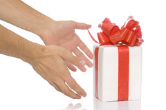 Your present Royalty Free Stock Photography