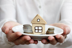 Your property insurance Royalty Free Stock Photography
