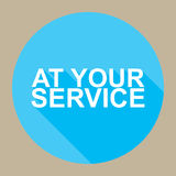 At your service Royalty Free Stock Photos