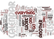 Your Sexy Calendar Text Background  Word Cloud Concept. YOUR SEXY CALENDAR Text Background Word Cloud Concept Royalty Free Stock Photos