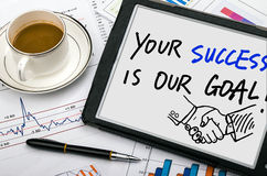 Free Your Success Is Our Goal Stock Photo - 51546750
