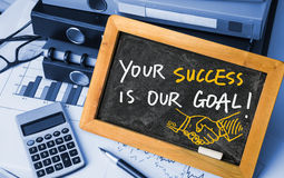Your success is our goal Stock Images
