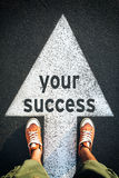 Your success Royalty Free Stock Image