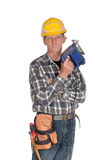 Your successful handyman Royalty Free Stock Images