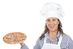 Your tasty Italian pizza Royalty Free Stock Images
