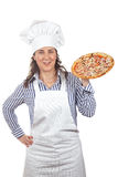 Your tasty Italian pizza Stock Photos