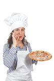 Your tasty Italian pizza Royalty Free Stock Photography