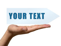 Your text royalty free illustration