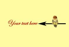 Your text here royalty free stock image