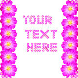 Your text here. Add you text in the center of the page Royalty Free Stock Photo