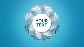 Your text / logo on an abstract spiral stock illustration