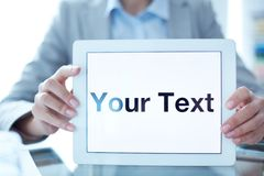 Your text Royalty Free Stock Photo